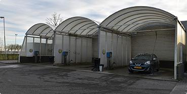 Carwash wasboxen Tankstation BP Dinteloord