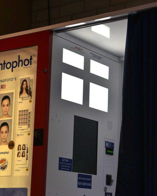 Pasfoto cabine tankstation dinteloord