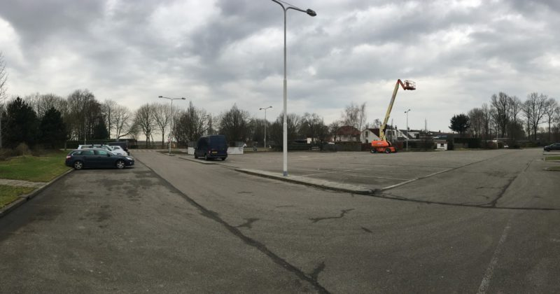 Parkeerruimte Truckstop Dinteloord